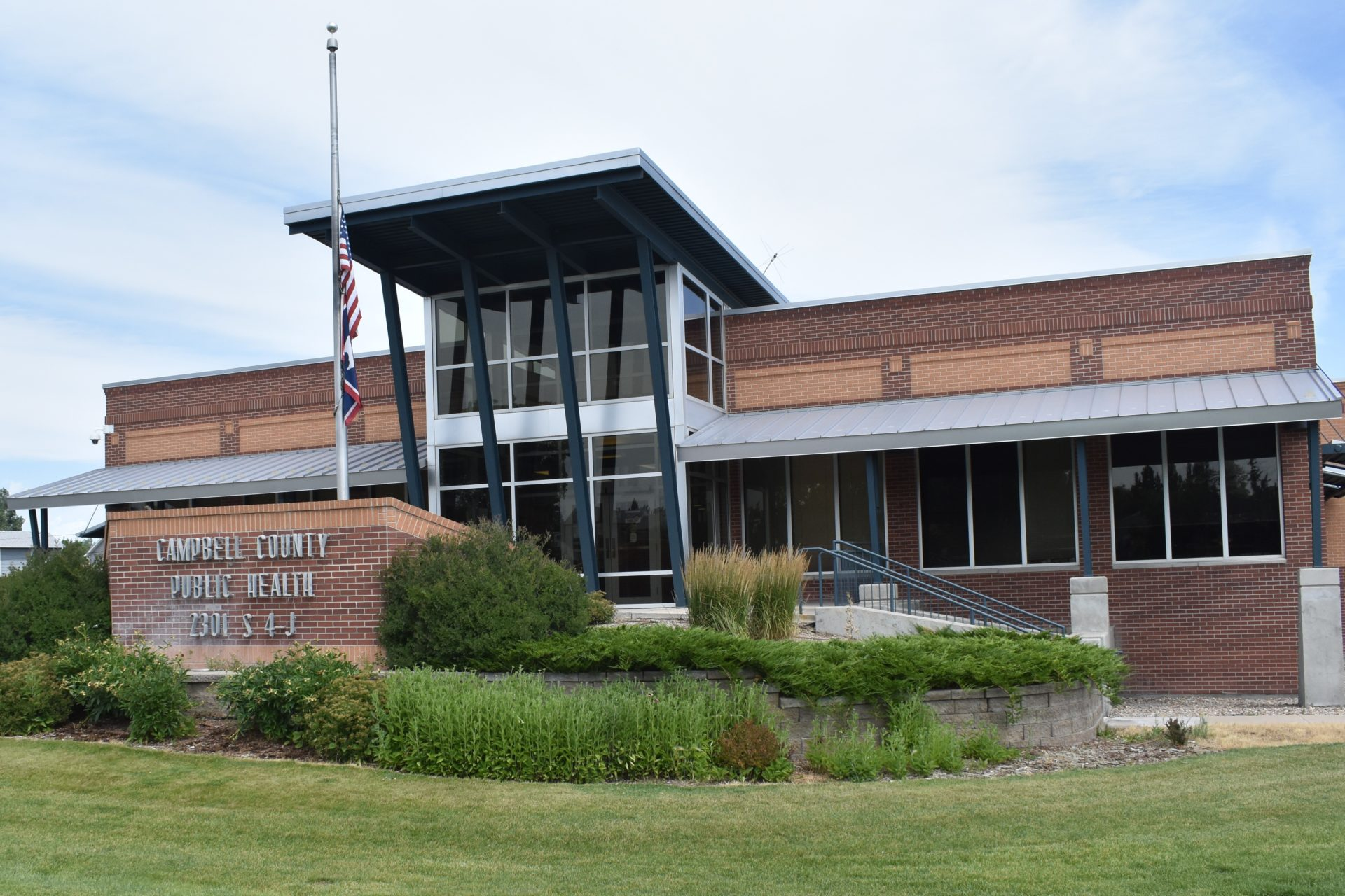 Campbell County Public Health building in Gillette (County 17 Photo/Taylor Helton)