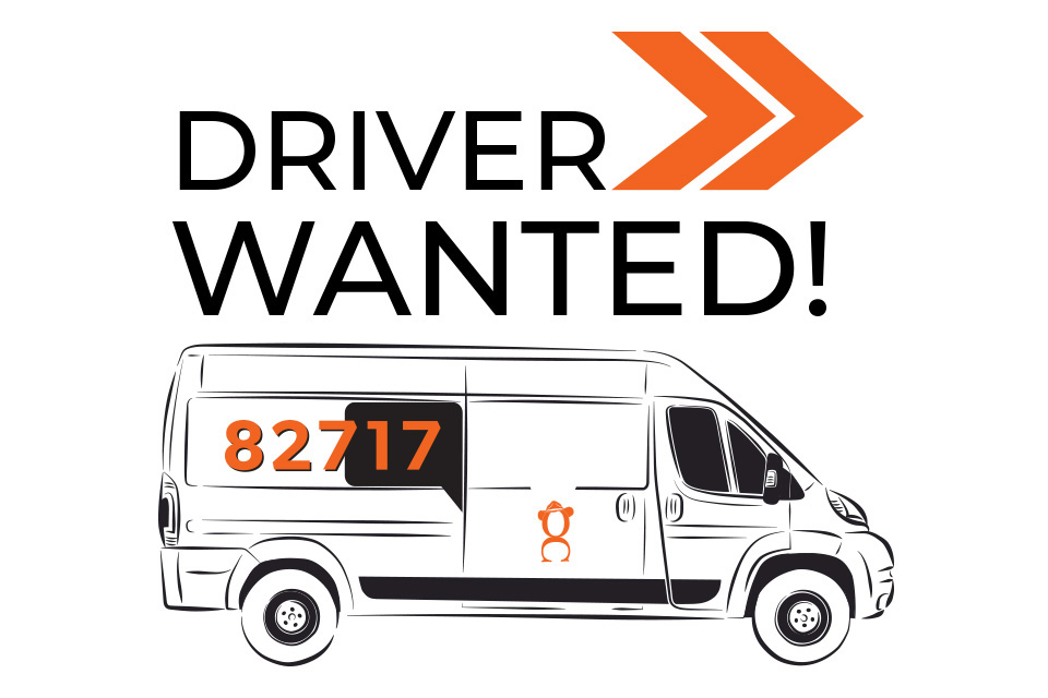 Delivery driver wanted for 82717 magazine