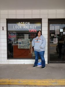 Vicki Lueras is hoping her family business can weather the storm as she waits for funding.