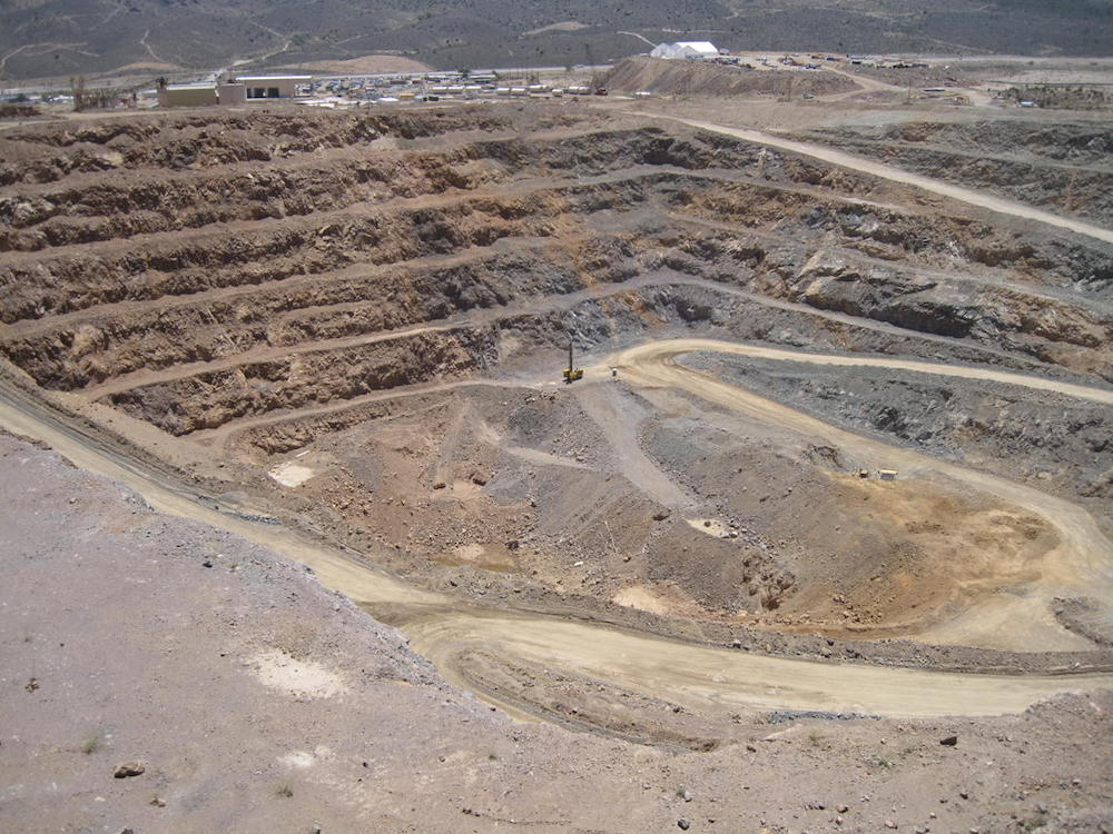 Mountain Pass Rare Earth Element Mine