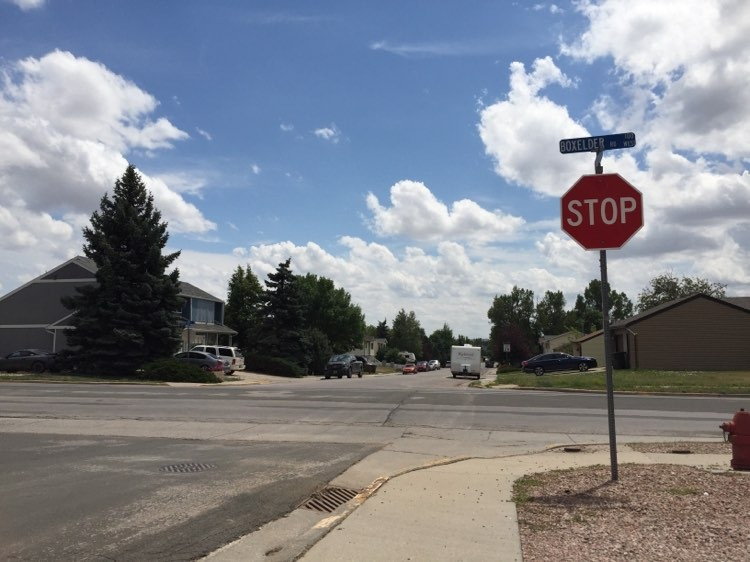 307 Patriots would like to see a crosswalk implemented at the corner of Boxelder Road and S. Gillette Avenue