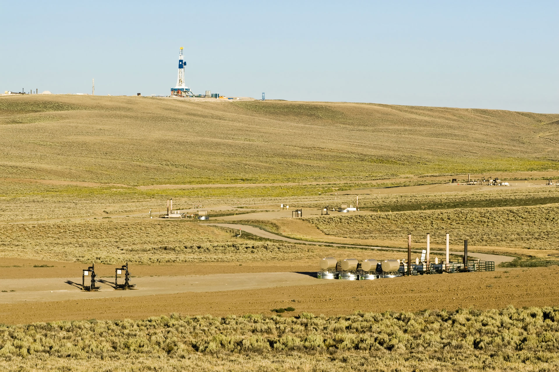 Oil and Gas Drilling and Operating Locations