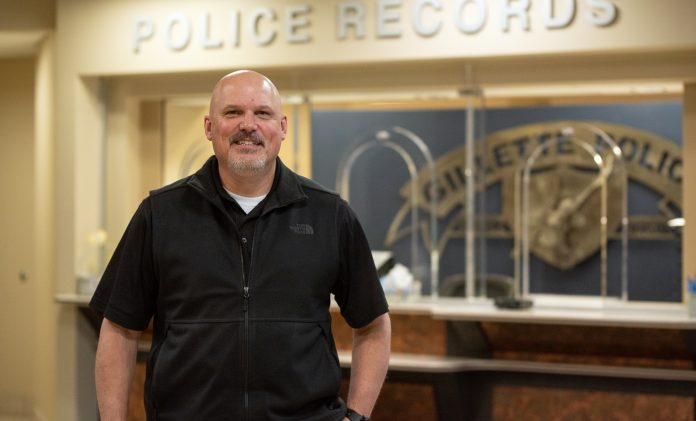 Lt. Deaton was selected to be the upcoming Chief of Police for the Gillette Police Department (Photo: County 17/Brooke Byelich)