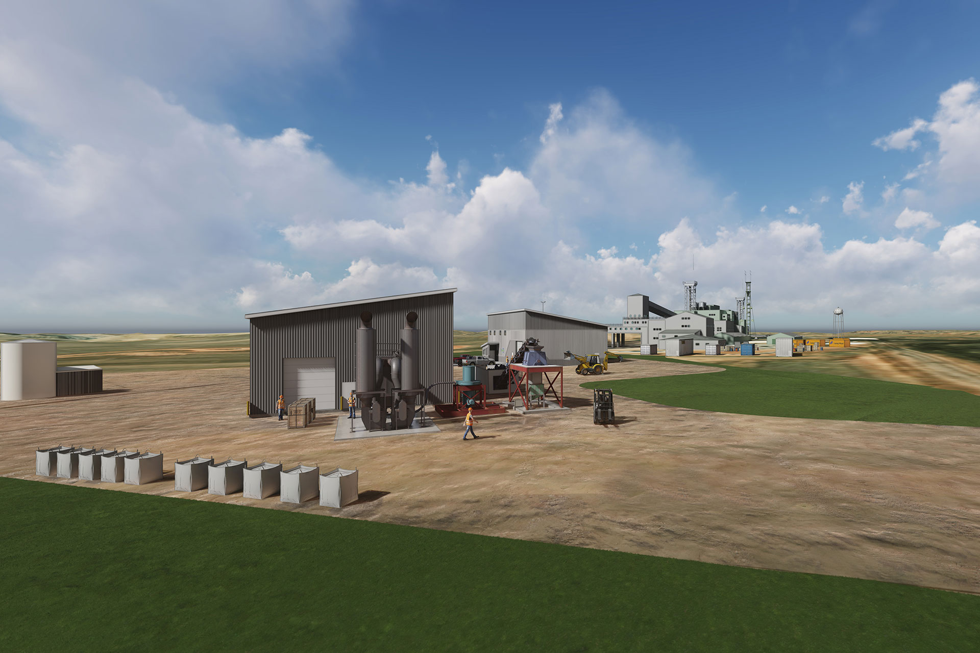 Wyoming Innovation Center Conceptual Rendering