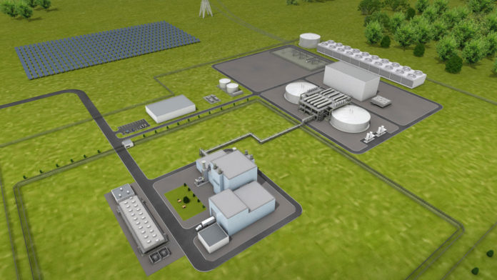 Rendering of the proposes Natrium Reactor